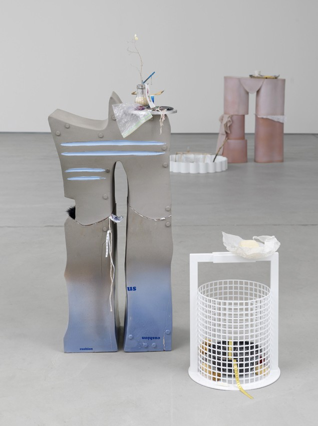 12 Helen Marten, Oreo St. James, 2014, installation view, Sadie Coles