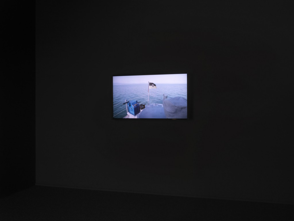 Border Sampling, HD Video, 10min 30sec, Courtesy of the artist, Wentrup Gallery, Rampa Gallery,  photo by Stathis Mamalakis