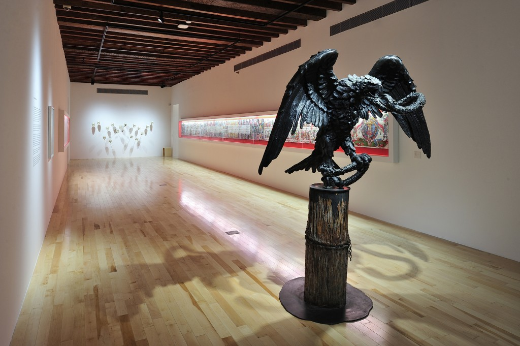 Ruta Mistica, installation shot, 2014, Museo Amparo, Puebla