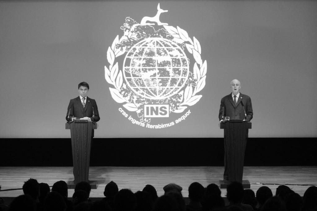 International Necronautical Society, INS-Declaration of Inauthenticity, Tate Britain, London 2009, Photo: INS Department of Propaganda, © 2014 Richard Eaton/Tate, courtesy of International Necronautical Society